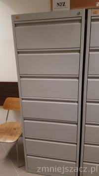 Sprzedam metalowe szafki kartoteczne